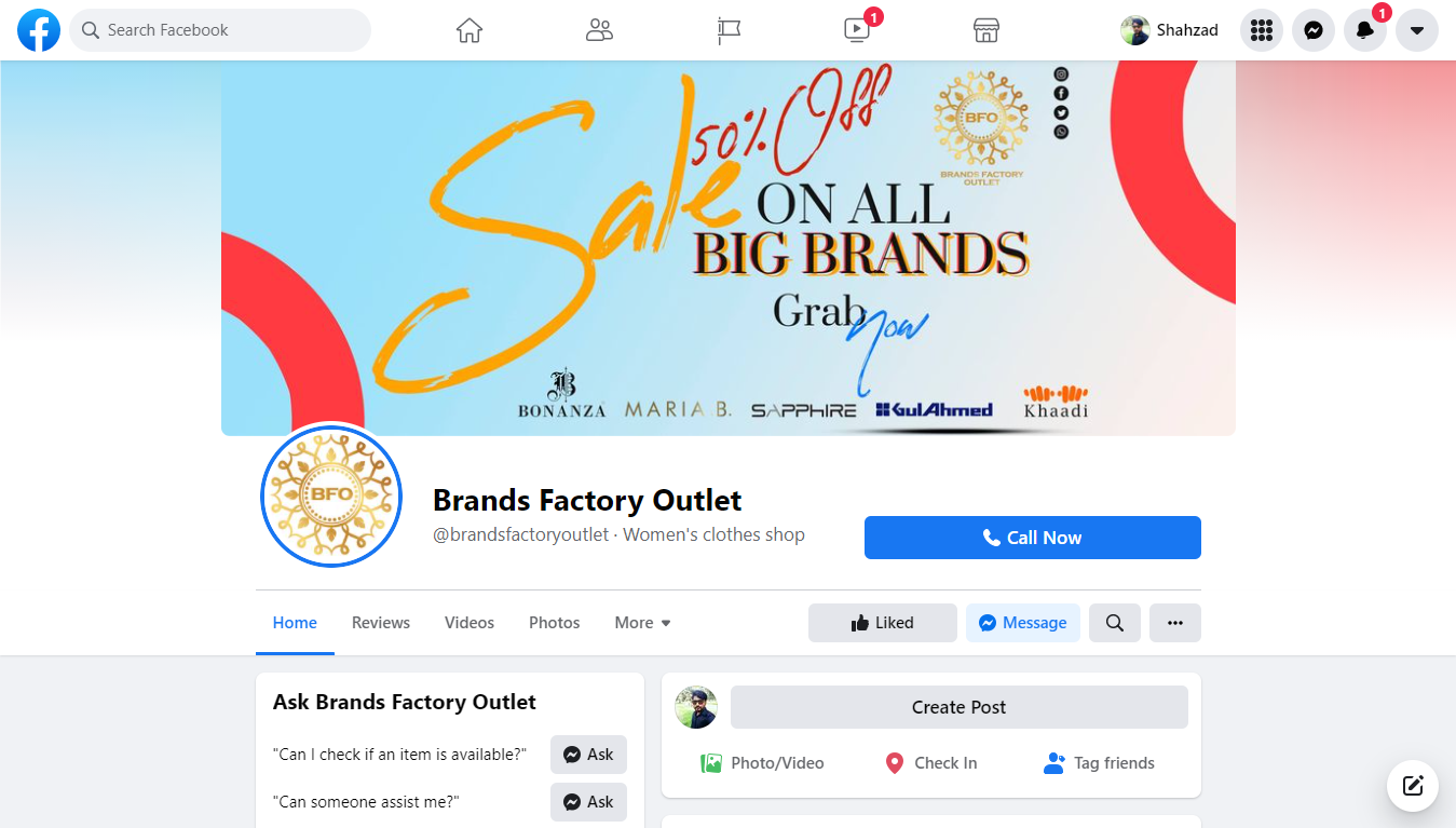 Brands Factory Outlet